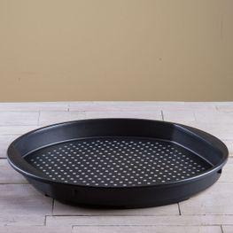 Charola-Circular-Dots-Negra-G