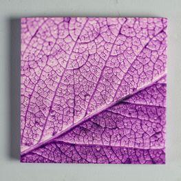 Cuadro-Canvas-Gotas-Violeta-25x25cm