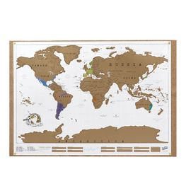 Scratch-Map-Poster