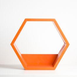 repisa-hexagonal-naranja