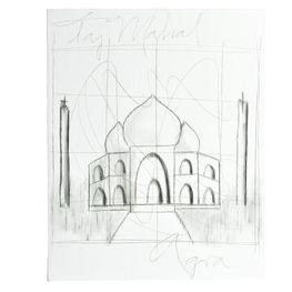 Cuadro-Loteria-Taj-Majal-40X50