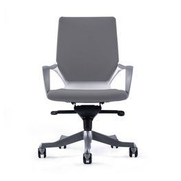 Silla-Media-Apollo-cruedas-Gris