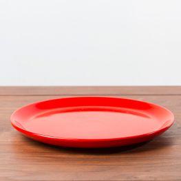 Plato-Postre-Jumbo-Rojo-20CM