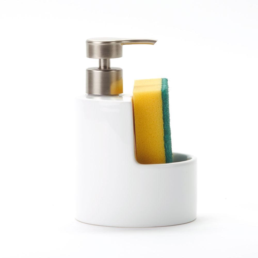 Dispensador de Jabon c/esponja Corvina 11x17 - mobica