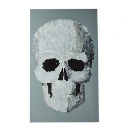 Cuadro-Gray-Skull