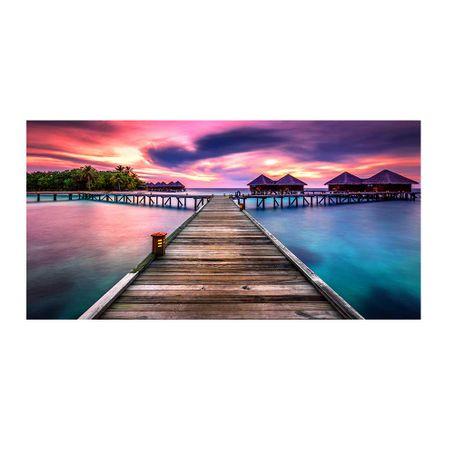 cuadro-mirihi-island-sunset