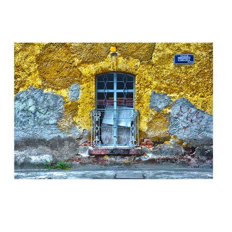cuadro-Yellow-house